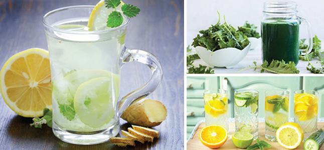 5 món nước detox thanh lọc cơ thể đón Xuân về