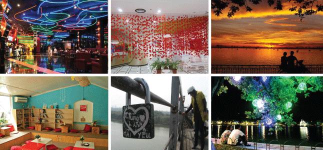Địa điểm hẹn hò ở Hà Nội lý tưởng trong ngày Valentine