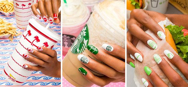 6 mẫu vẽ móng tay đẹp đơn giản cho các tín đồ fastfood