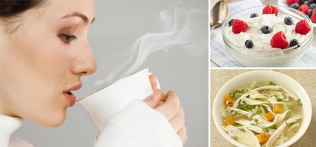 Cách trị cảm lạnh từ các thực phẩm có trong nhà bếp