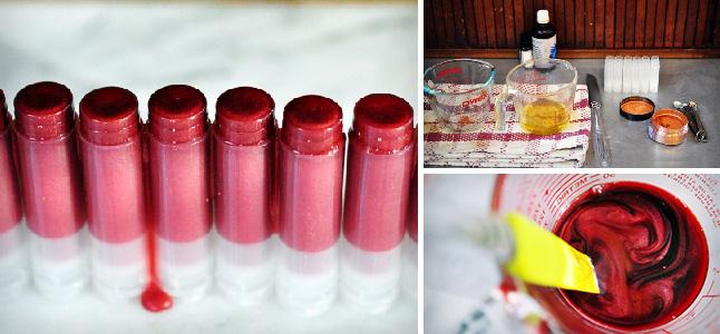 3 cách làm son handmade có màu sắc ngọt ngào