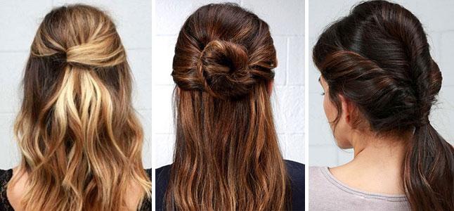 Các kiểu tóc đơn giản tự làm ở nhà cho phái đẹp