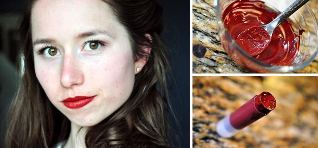 Cách làm son môi handmade có màu rực rỡ siêu quyến rũ
