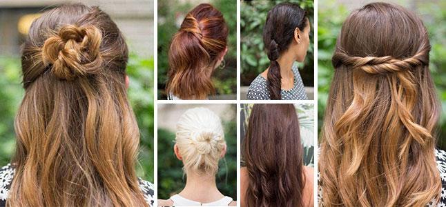 Những kiểu tóc đơn giản dễ làm cho cô nàng bận rộn