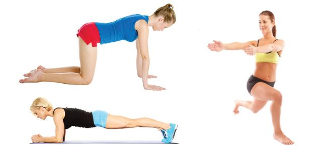 Những bài thể dục giảm mỡ bụng hiệu quả bất ngờ