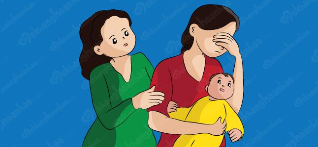 Cảnh giác với bệnh loạn thần sau sinh