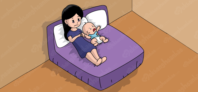 Bỏ túi ngay các mẹo giảm mệt mỏi sau khi sinh cho mẹ